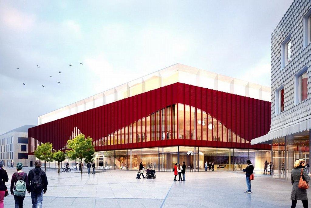 Budoucí podoba města Kiruna