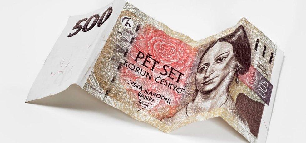 Božena Němcová na bankovce, ilustrační foto