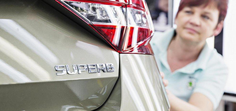 V závodě automobilky Škoda Auto v Kvasinách začali vyrábět třetí generaci modelu Superb