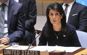 Velvyslankyně Spojených států při Organizaci spojených národů,Nikki Haleyová