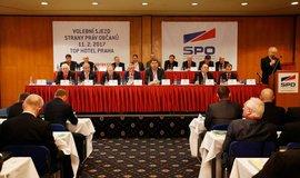 Volební sjezd SPO v roce 2017