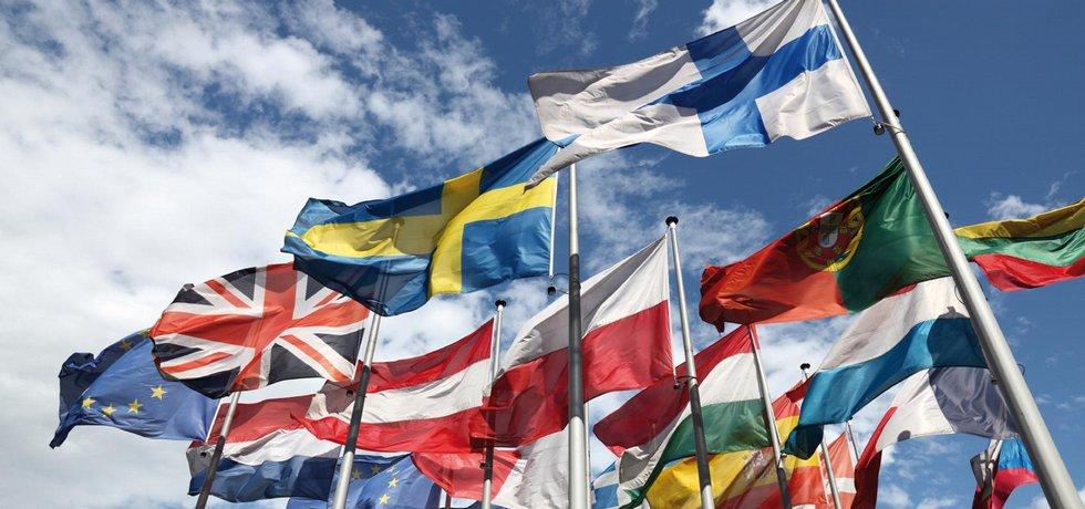 Evropská unie, vlajky,
