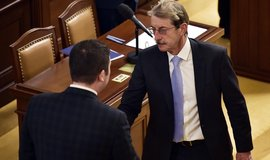 Jiří Hlavatý (ANO) skládá poslanecký slib