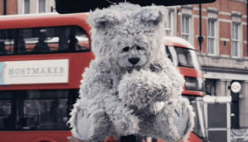 Kašlající medvěd Toxic Toby, ilustrační foto