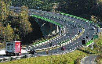 Dálnice v Česku - ilustrační foto