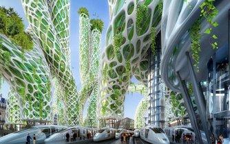 Návrh staveb od architekta Vincenta Callebauta