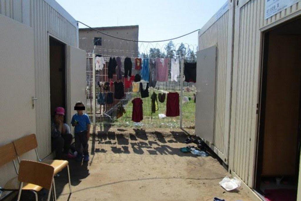 Zařízení pro uprchlíky v Bělé na Mladoboleslavsku