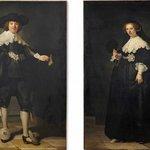 Rembrandt van Rijn - Pendant portraits of Maerten Soolmans and Oopjen Coppit