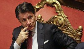 Úřadující premiér Giuseppe Conte
