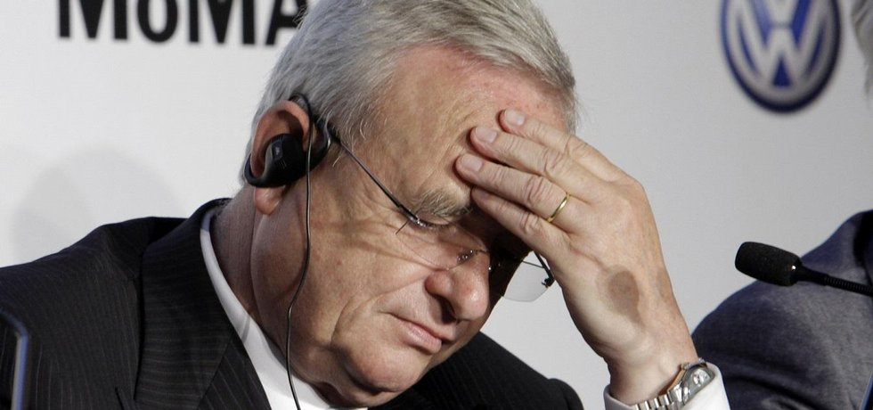 Bývalý šéf Volkswagenu Martin Winterkorn