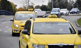 Taxi v Praze - ilustrační foto