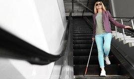Pohyb po letišti má nevidomým usnadnit speciální aplikace.