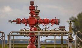 Těžba plynu, ilustrační foto