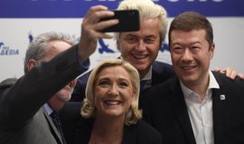 Le Penová v Praze podpořila Okamuru. Chtějí oslabit roli EU