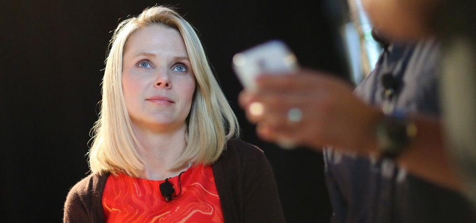 Marissa Mayerová, kritizovaná šéfka Yahoo (Autor: TechCrunch, Flickr.com - CC BY 2.0)