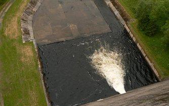 Vodní nádrž, ilustrační foto