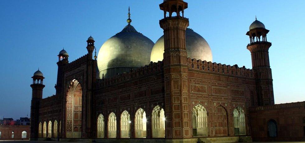 Mešita v Pákistánu - ilustrační foto