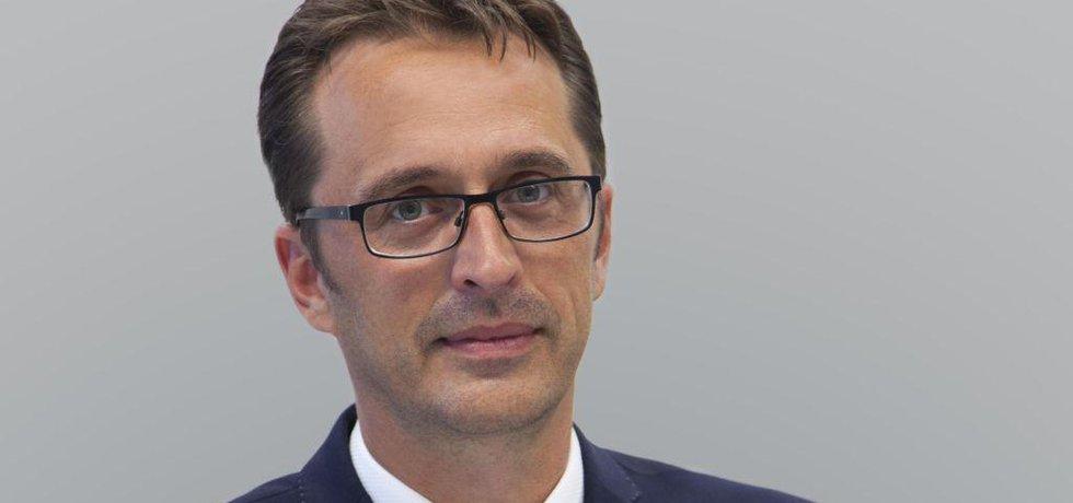 Václav Štětina, šéf firemního bankovnictví Raiffeisenbank