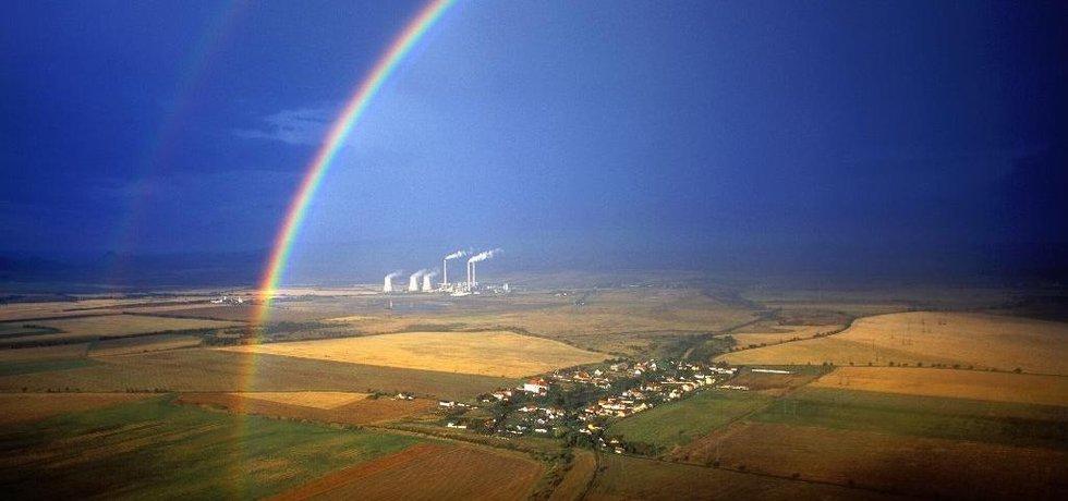 Elektrárna Počerady, ilustrační foto