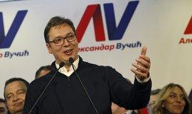Nově zvolený srbský prezident Aleksandar Vučić