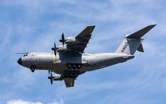 Vojenské letadlo společnosti Airbus A400 M
