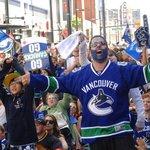 Fanoušci Vancouveru Canucks
