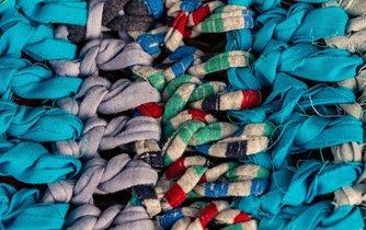 Recyklace textilií, ilustrační foto