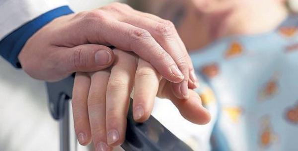 ruce, lékař, pacient, dítě, nemocnice