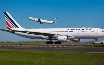 Letadla společnosti Air France