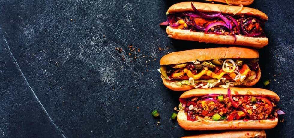 Fastfood, ilustrační hozuo