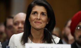 Zástupkyně USA v OSN Nikki Haleyová