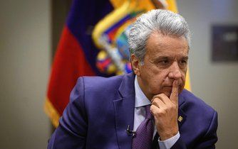 Prezident Ekvádoru Lenín Moreno