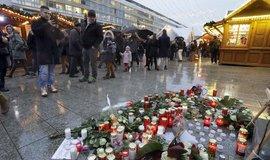 Pieta za oběti teroristického útoku v Berlíně