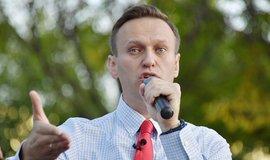 Alexej Navalnyj na mítinku ve Vladivostoku, ilustrační foto
