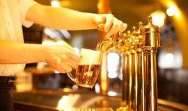 Čepování piva - ilustrační foto