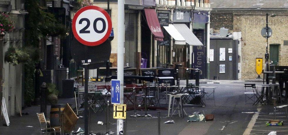 Teroristický útok v Londýně si vyžádal 8 obětí