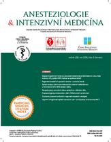 Anesteziologie a intenzívní medicína