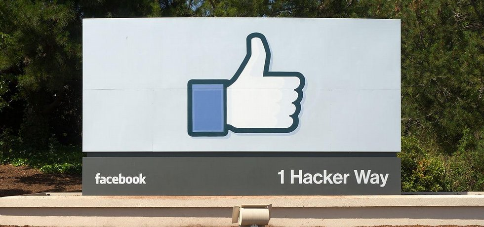 Okolí sídla společnosti Facebook