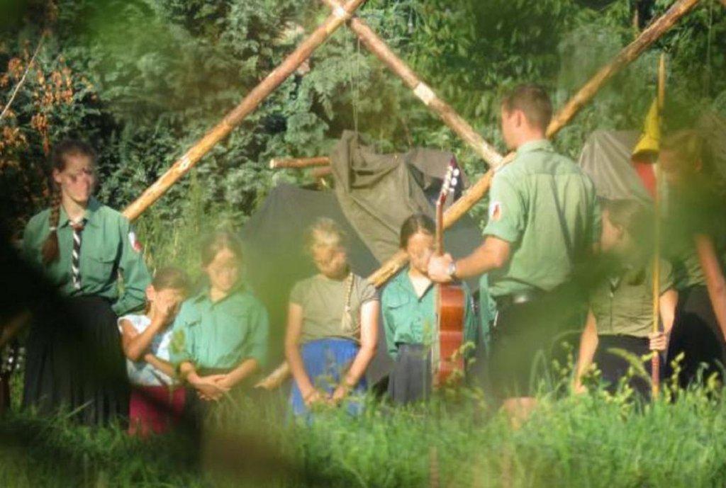 Sturmvögel na táboře v Meklenbursku-Předním  Pomořansku.
