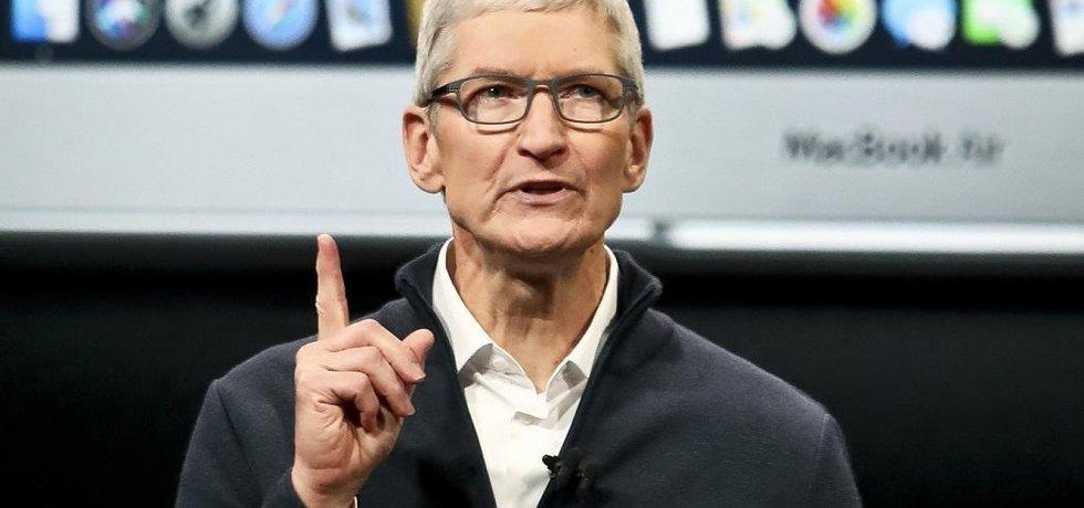 Výkonný ředitel společnosti Apple Tim Cook