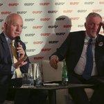 Pavel Fischer a Mirek Topolánek se střetli v předvolební debatě týdeníku Euro.