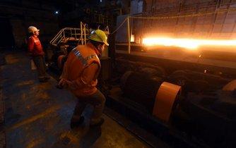 Nová pec válcovny Vítkovice Steel, ilustrační foto