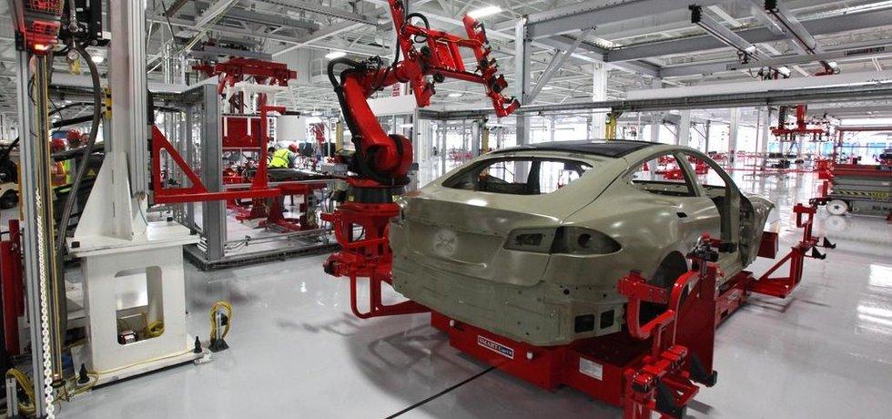 Továrna automobilky Tesla