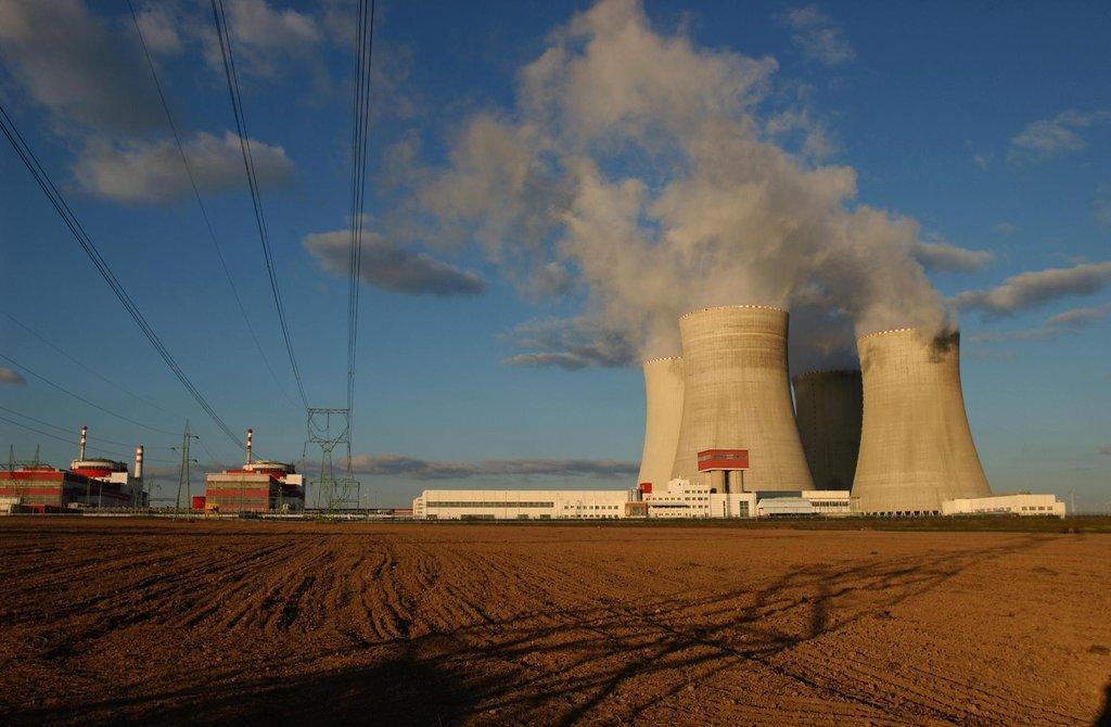 Jaderná elektrárna Temelín, ilustrační foto