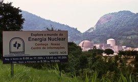 Brazilská jaderná elektrárna Angra, ilustrační foto