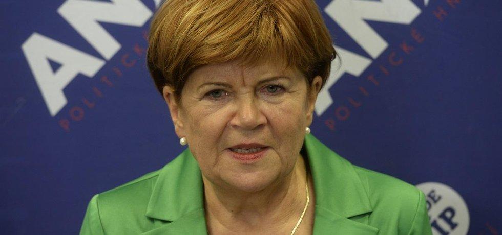 Zuzana Baudyšová rezignovala na post senátorky