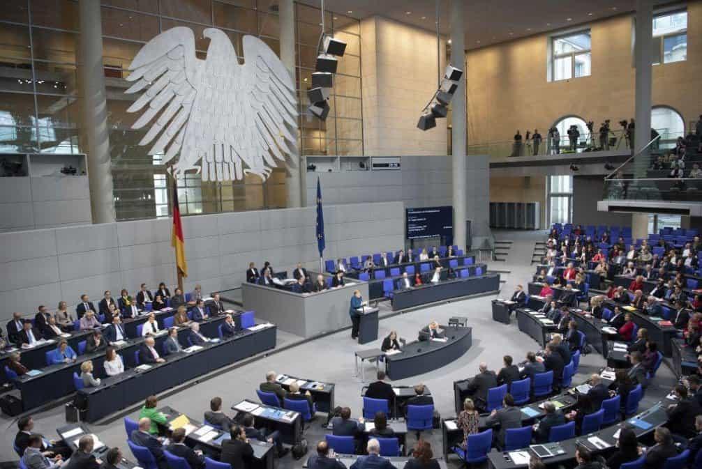 Bundestag, ilustrační foto