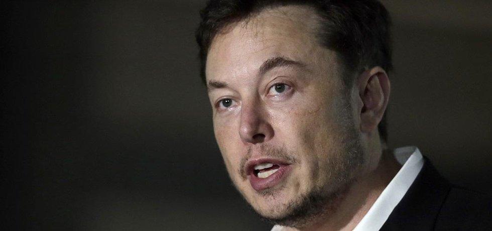 Zakladatel Tesly Elon Musk