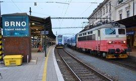 Vlakové nádraží v Brně