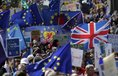 Pochod Londýnem na protest proti brexitu
